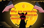Why are earmarks good for American democracy?
